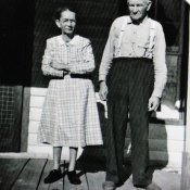 Charlie (1872-1960) and wife Rena Denton (1897-1989)